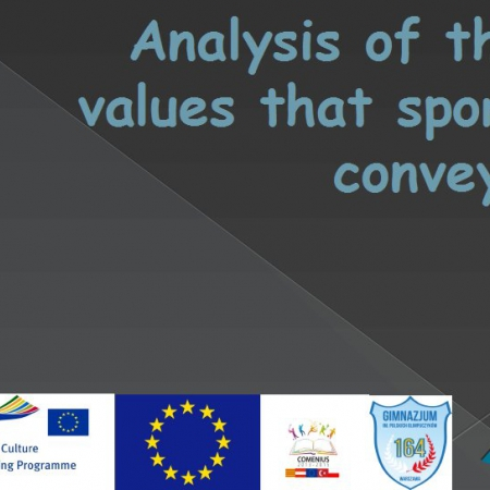 Analysis of the values that sport conveys