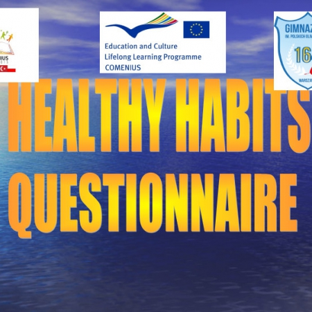 Healthy Habits Questionnaire