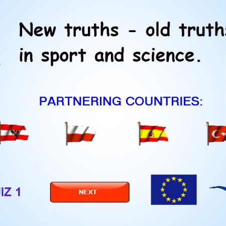 QUIZ1 - new truths - old truths in sport and science