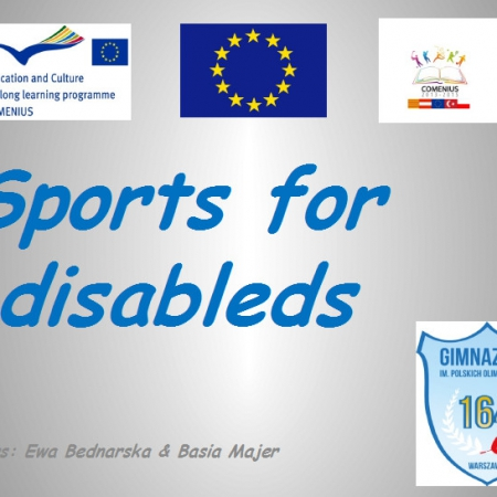 Sports for disableds
