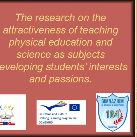 The research on the attractiveness of teaching physical education and science as subjects developing students interests and passions